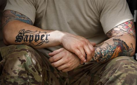 army tattoo regulation army tattoos designs ideas and meaning