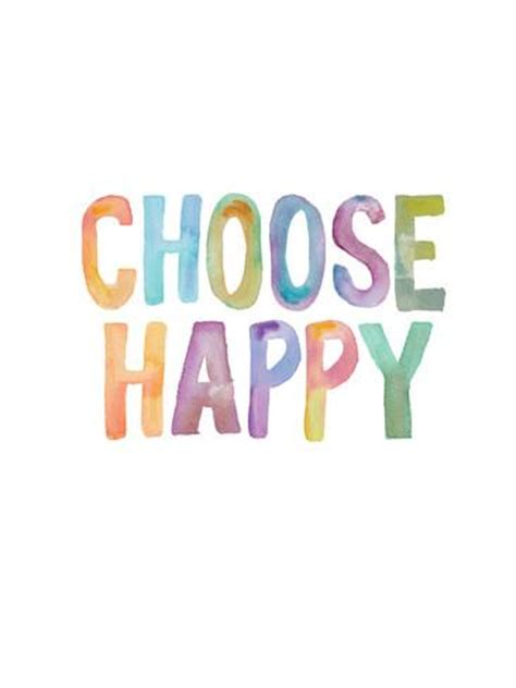 Choose Happy choose happy prints by brett wilson allposters co uk