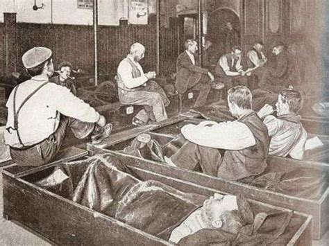 Salvation Army Mattress Up by A In A Salvation Army Shelter 1892