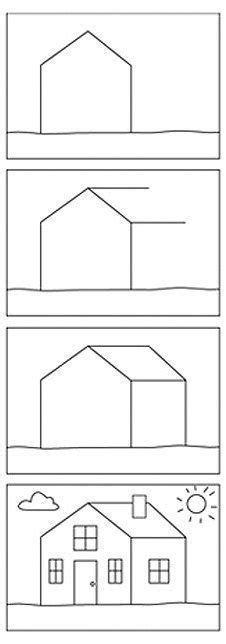 home draw 1000 images about tekenen on how to draw