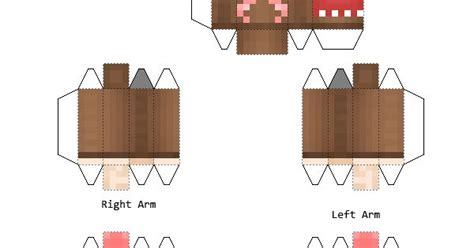 Domo Papercraft - papercraft domo minecraft