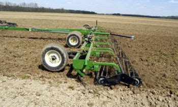 seedbed preparation equipment for land cultivation