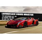 2015 Lamborghini Roadster Veneno With Cool Design And Look
