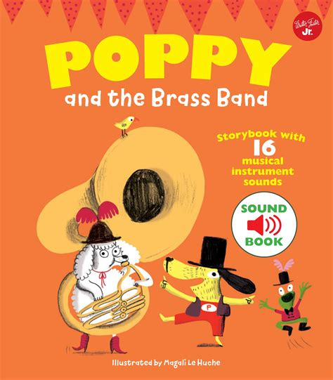 poppy and the orchestra go on a musical adventure with poppy the brass band