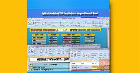 Software Lp2p aplikasi penilaian ktsp semua kelas sekolah dasar