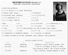 Cv Criminal Record Arrest Record Template Layout Record Of Arrest File Rpg