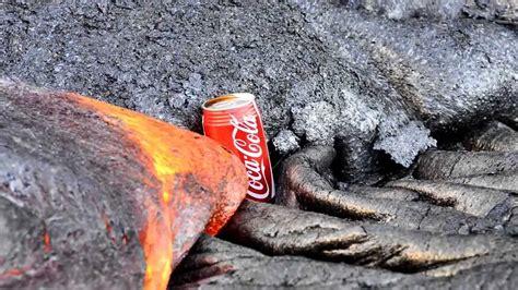 Big Flow 8 Maxy Ori By Lava esto pasa si pones un lata de coca cola en la lava