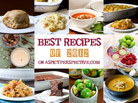 best recipes best recipes of 2012 a spicy perspective
