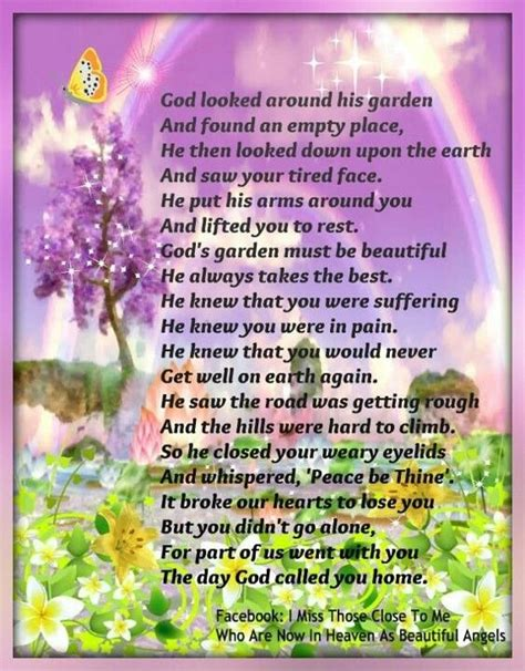 Garden Poems by God S Garden Poem God Looked Around His Garden