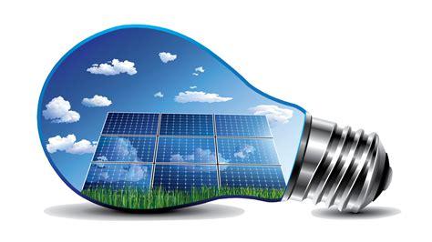 solar panel light bulb volcano energy