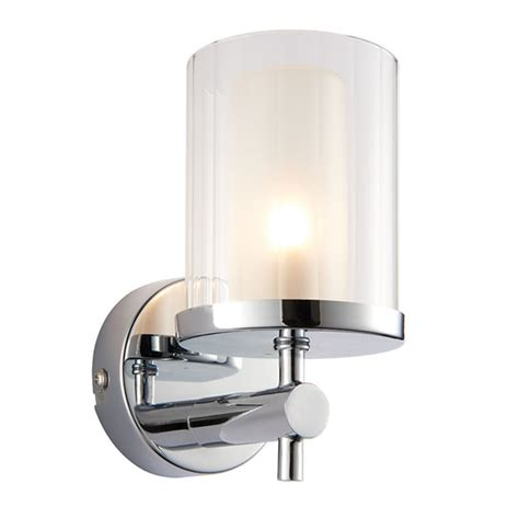Endon Bathroom Lights Endon Britton 1lt Wall Light Bathroom Light Lichfield Lighting