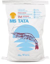 Pakan Udang Tata products pt matahari sakti