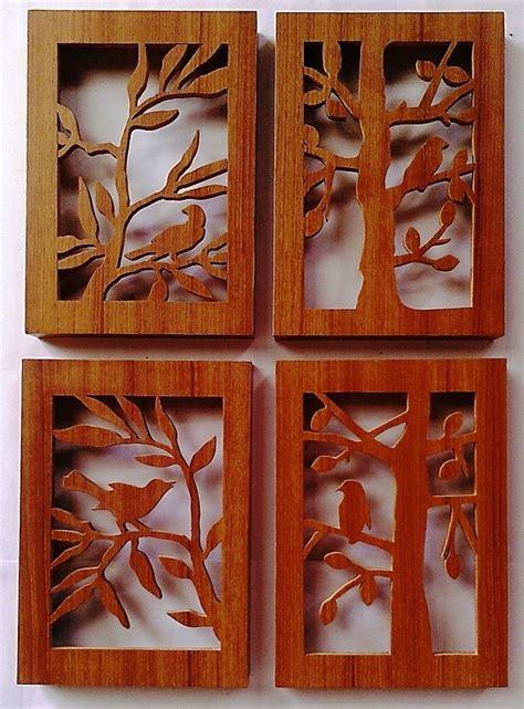 Siluet Kayu 1 barang unik hiasan dinding 3d siluet motif kayu 003 jual