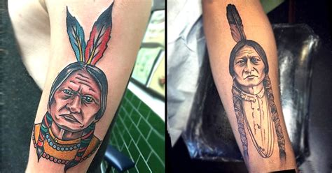 sitting bull tattoo 10 proud sitting bull tattoos tattoodo