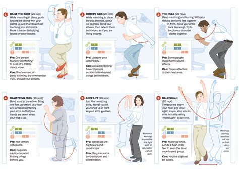 a workout at work 12 office exercises washington post