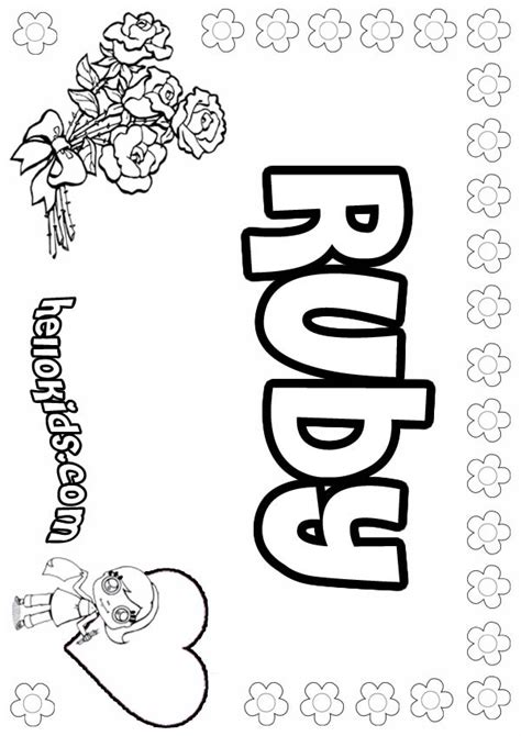 printable coloring pages with names name s free coloring pages