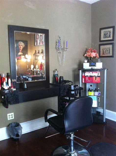in home hair salon ideas my home