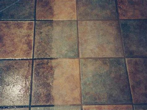Cleaning Porous Floor Tiles by Tile Grout Cleaning Services Jacksonville Fl