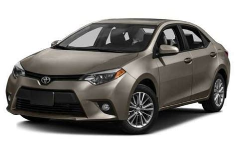 2016 Toyota Corolla Msrp 2016 Toyota Corolla Models Trims Information And