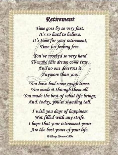 free printable retirement quotes retirement poems pictures gifts pinterest funny