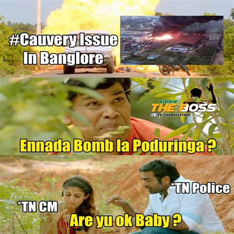 Kannada Memes - the boss tamil meme trolls fun