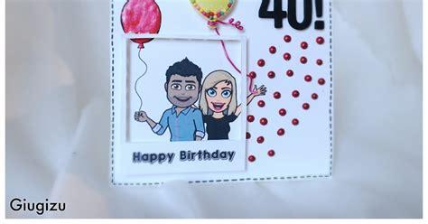 Fakes A Three Way For Bday by Giugizu S Corner Polaroid Custom Bitmoji Birthday