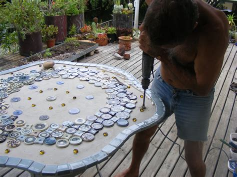 how to make a glass mosaic table top how to mosaic and make beautiful objects for home and
