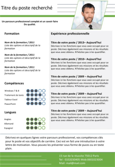 template za cv simple chronological cv for the uk joblers resume format