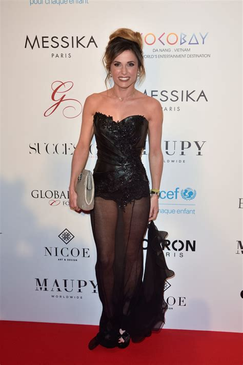 Capucine Anav on Red Carpet   Global Gift Gala in Paris 05/16/2017