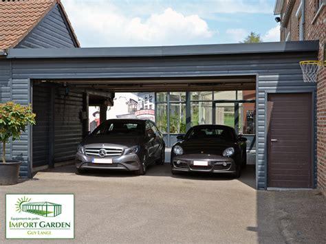 carport abri de voiture contemporain en bois concept abri