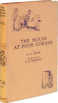 Novel Grafis The House At Pooh Corner A A Milne the house at pooh corner by a a milne edition 1928 from between the covers
