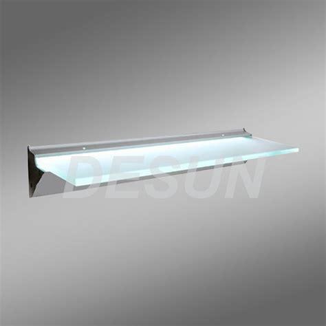 mensole illuminate mensola di vetro illuminata led mensola di vetro