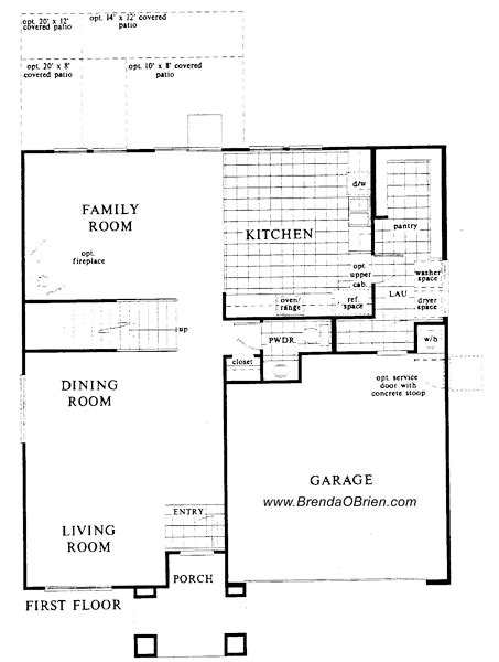 Villages Of La Canada Floor Plan Kb 2591 Upstairs | villages of la canada floor plan kb 2591 downstairs