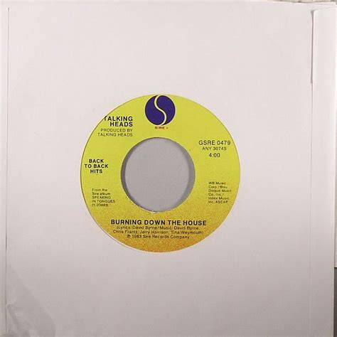 burning down the house talking heads talking heads burning down the house vinyl at juno records