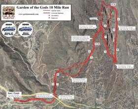 garden of the gods colorado map garden of the gods 10 mile 2014 2015 date registration