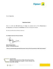 Experience Certificate Letterhead Experience Letter Realestatesalesmanagerexperienceletter 140826115406 Phpapp02 Thumbnail 4 Jpg
