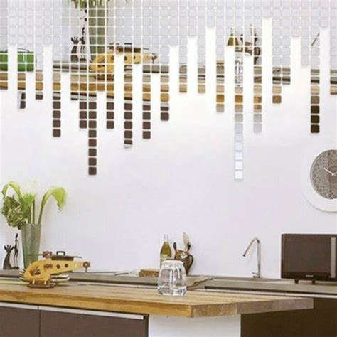 mirrored wall stickers deal wall stickers home decor fish ponds mural