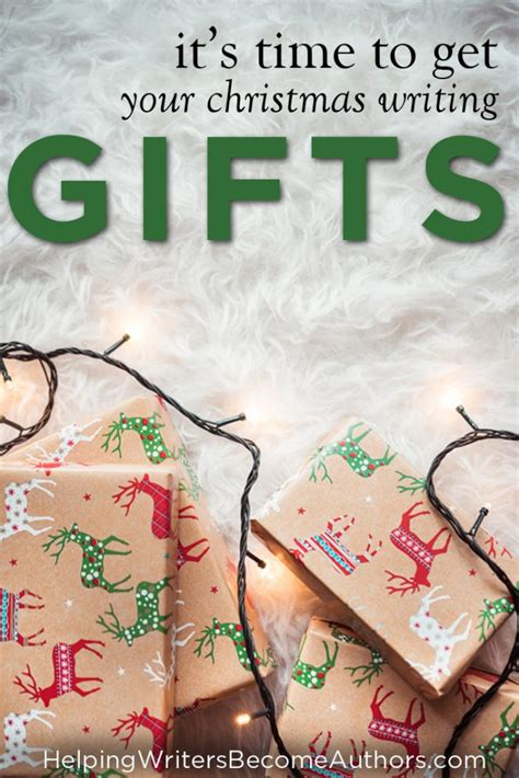 it s time to buy christmas gifts for writers helping