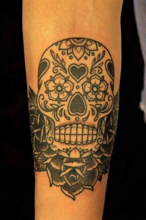 skull with roses tattoo meaning 40 sugar skull meaning designs