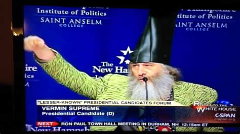 if i had a boat wizard with boot for hat running for president on c span