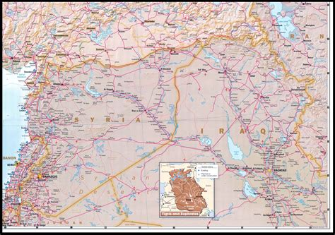 map of turkey and iraq nationmaster maps of syria 19 in total