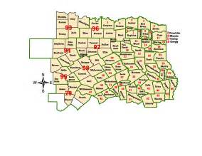 map of northeast counties wims county id maps