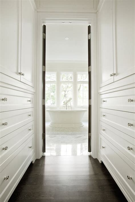 walk  closet transitional closet pld custom homes