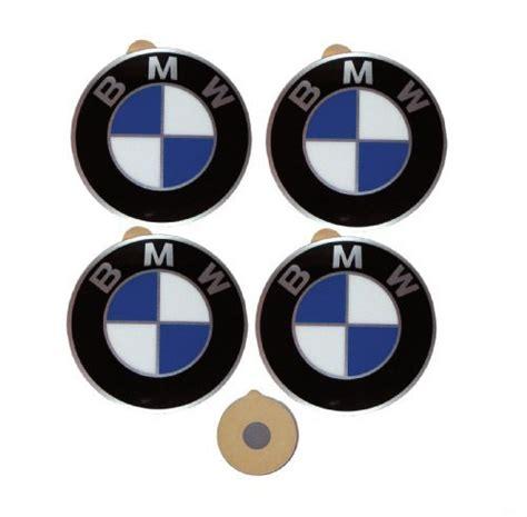 bmw emblem stickers bmw genuine wheel center cap emblems decals stickers 58mm