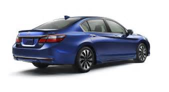 official 2017 honda accord hybrid