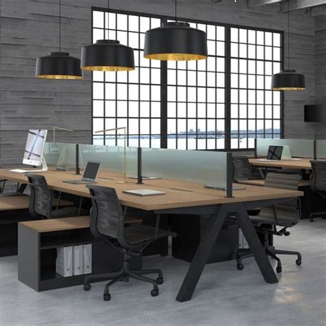 best office table design office inspiration i like the sort of glass partition