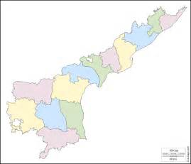Andhrapradesh Map Outline by Andhra Pradesh Free Map Free Blank Map Free Outline Map Free Base Map Outline Districts