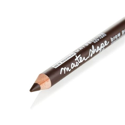 Maybelline Fashion Brow Pencil 0 78 Gr maybelline master shape brow pencil brown beautyinc gr