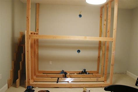 Diy Built In Bunk Beds One Room Challenge Week 2 Diy Built In Bunkbeds For Around 700 Chris