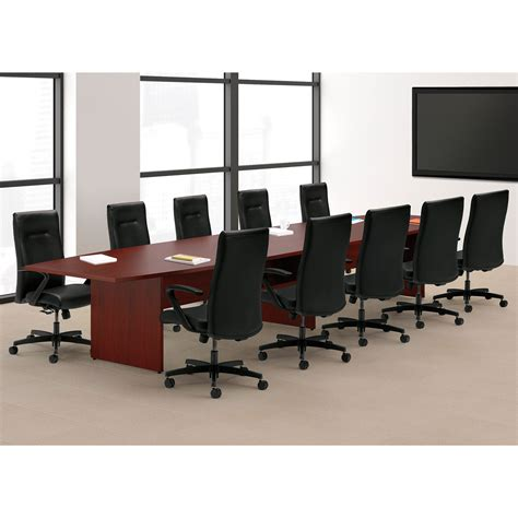 hon conference room tables hon tlpbn preside htlpb conference table panel base pack slab base 27 75 quot height